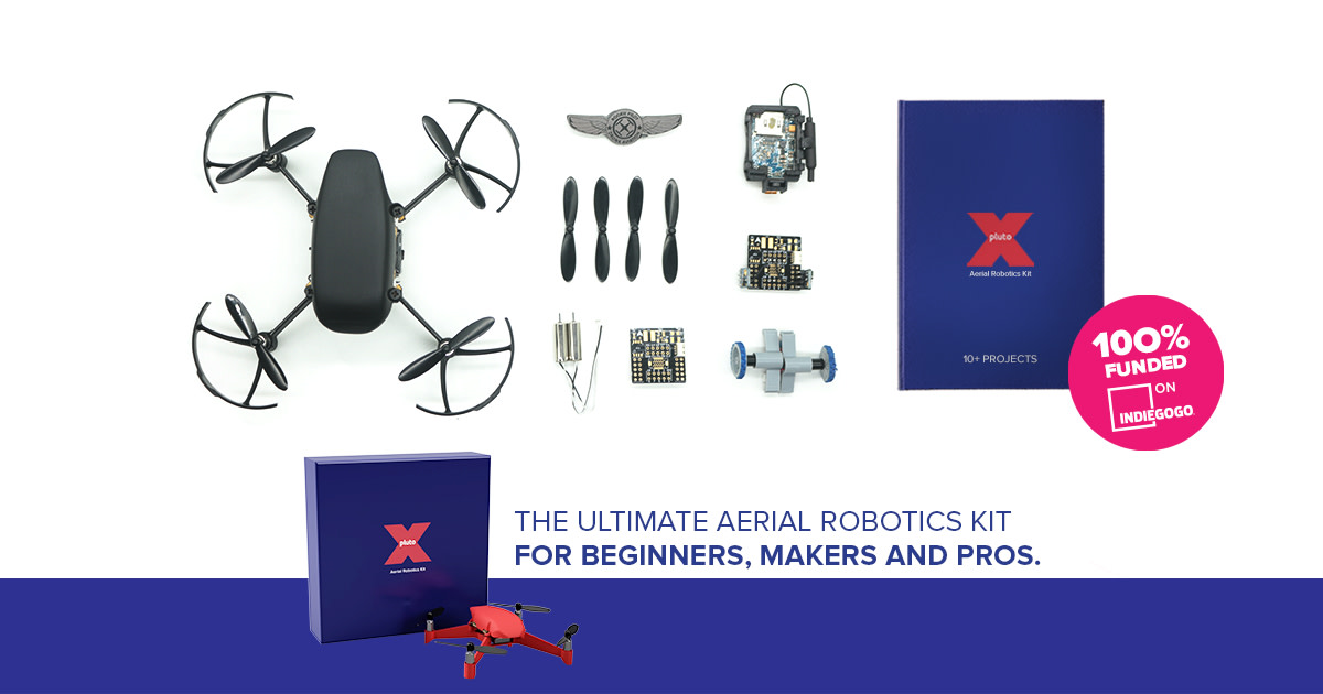 Plutox Kit Unbreakable Nanodrone 10 Diy Projects Indiegogo