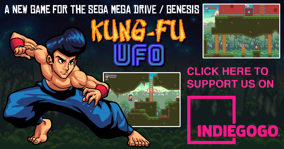 Kung Fu UFO A new SEGA Mega Drive and Genesis game | Indiegogo