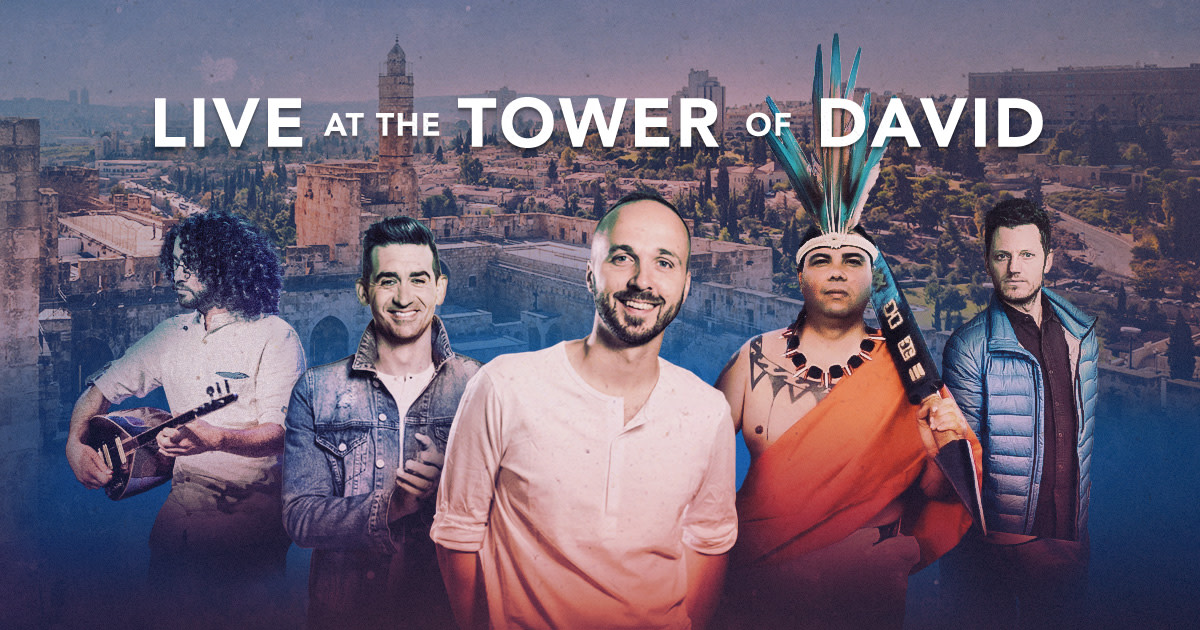 Joshua Aaron LIVE at the Tower of David, Jerusalem | Indiegogo