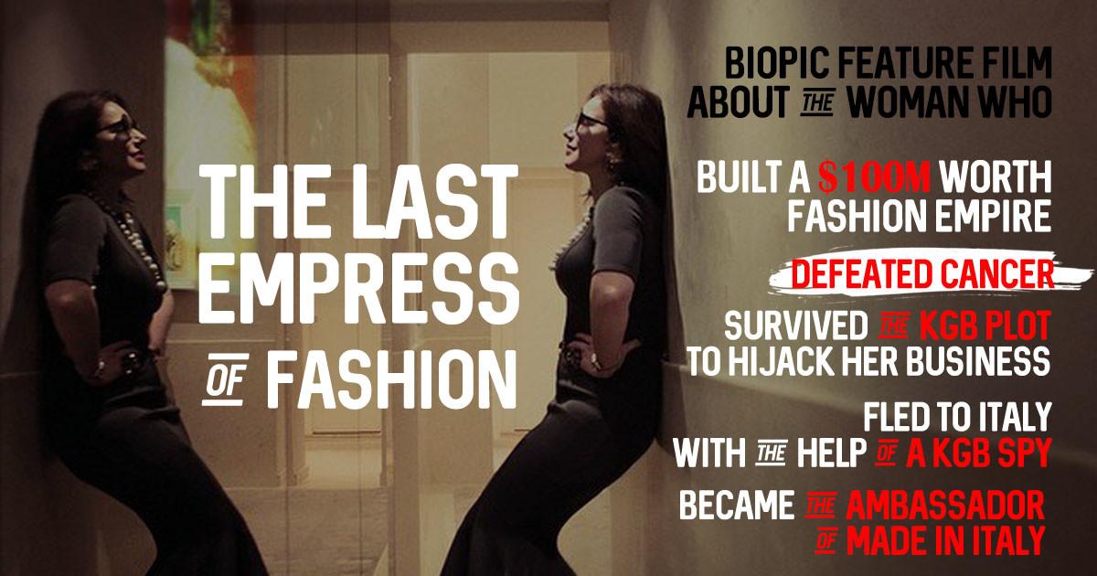 The Last Empress Of Fashion feature film   Indiegogo