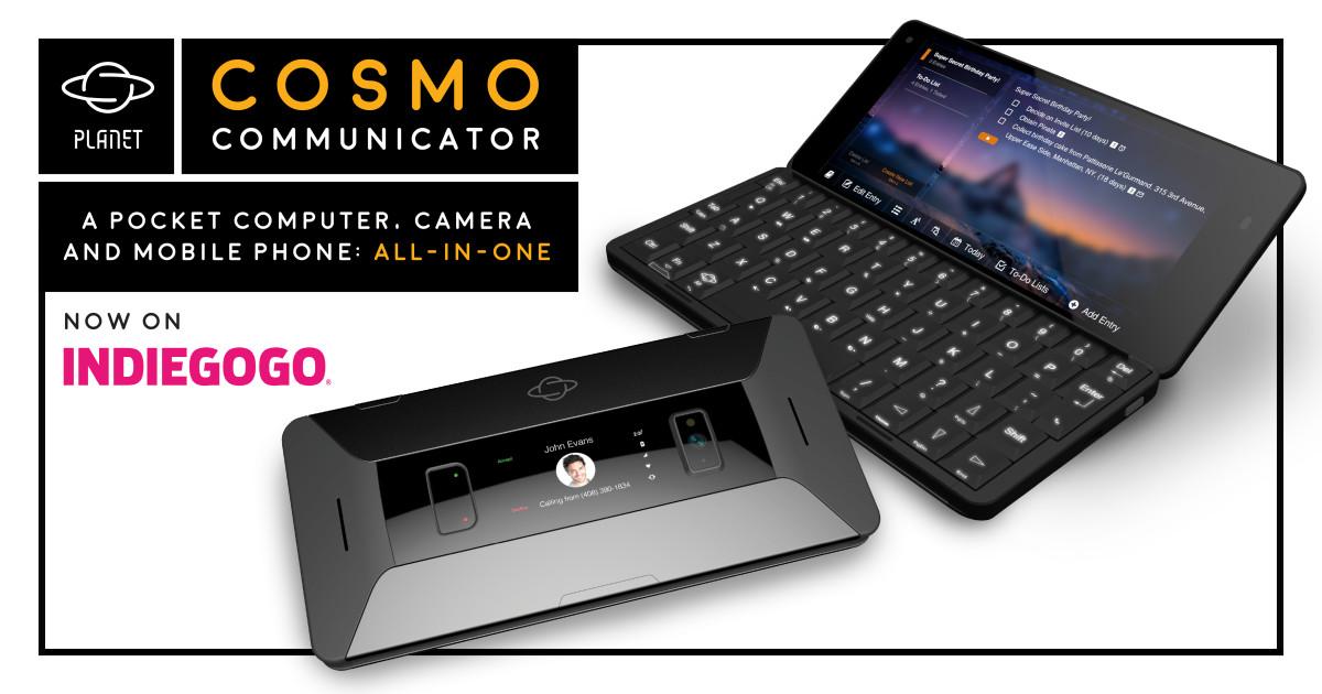 Cosmo Communicator   Indiegogo