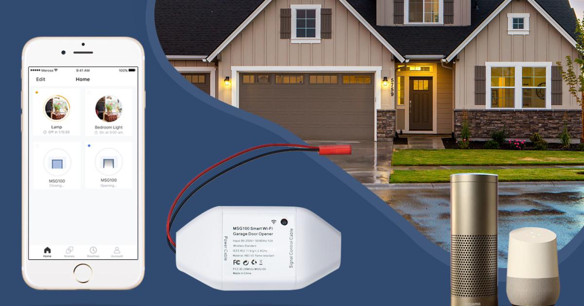 Meross Wi-Fi Smart Garage Door Opener | Indiegogo