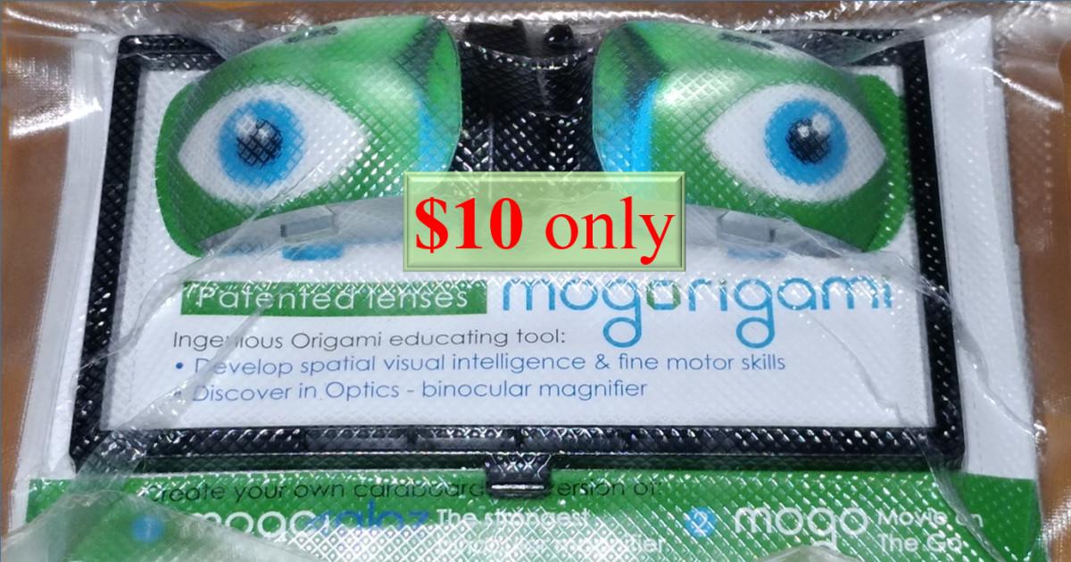 MOGORIGAMI optical origami for fun & education | Indiegogo