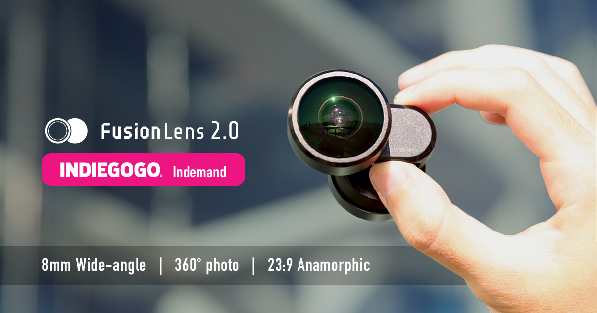 SMART LENS - ONE FOR ALL FusionLens 2 0 | Indiegogo