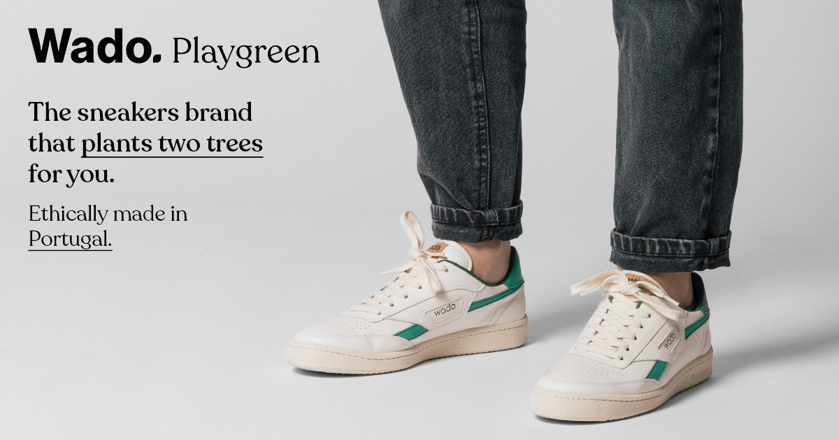 0860b059eee Wado - Sustainable Sneakers Inspired By The 80s
