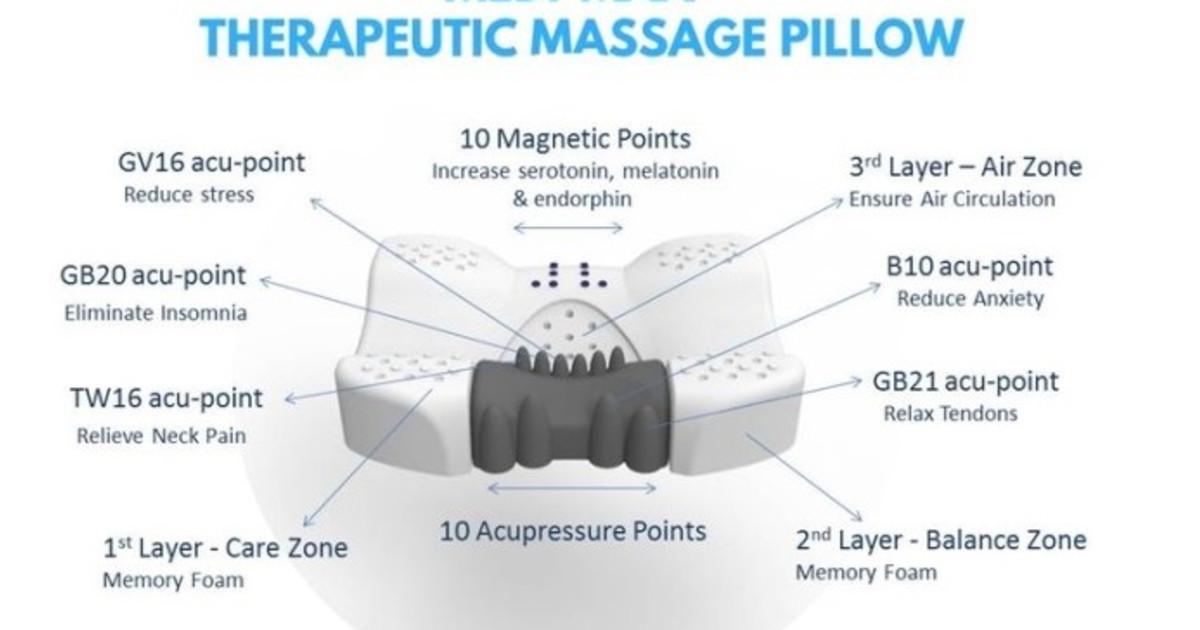 Medi-Max Therapeutic Massage Pillow | Indiegogo