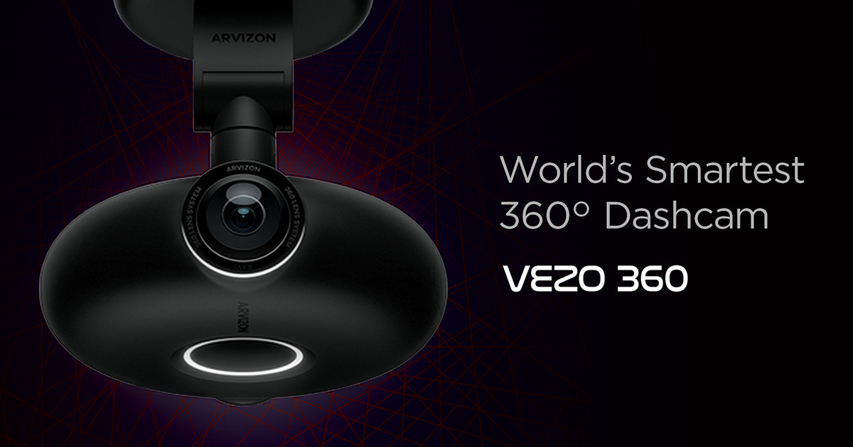 VEZO 360 - The First 4K 360 Degree Smart Dash Cam   Indiegogo