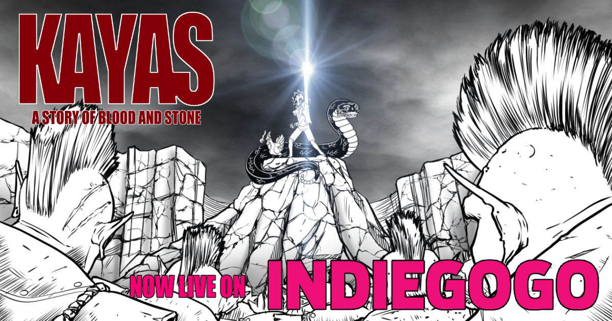Kayas: A Story of Blood and Stone | Indiegogo