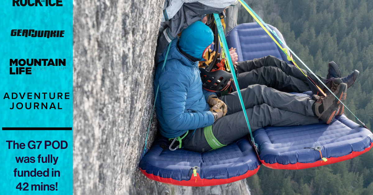 The G7 POD: World's lightest climbing ledge  | Indiegogo