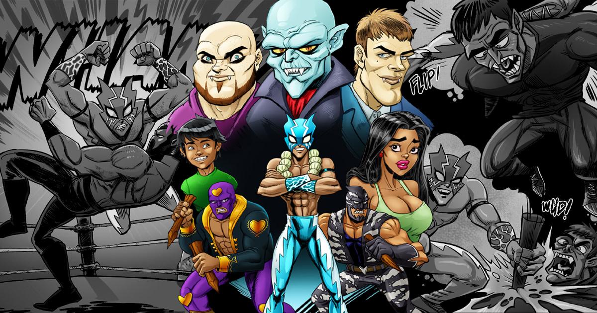 Megawatt vs The Vampires of the Sun | Indiegogo