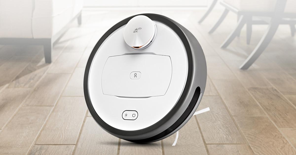 拭き掃除も同時に行うだけでなく水分も吸引でき、無駄のない掃除をするロボット掃除機「R6 Home」