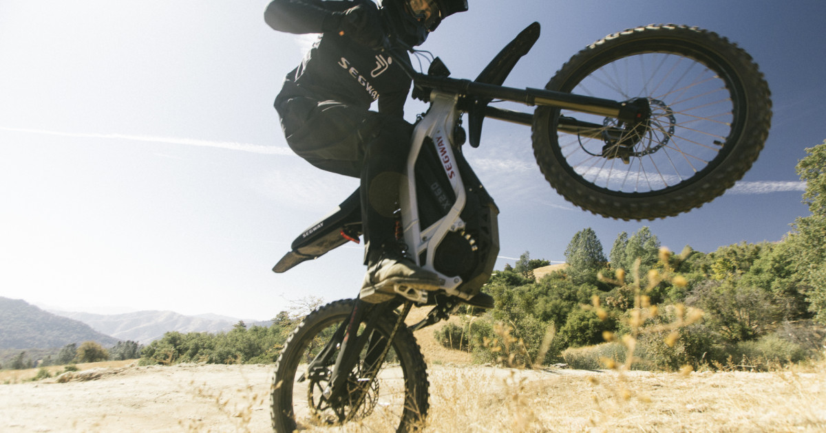 Segway Dirt eBike: The Epic Off-Road Ride