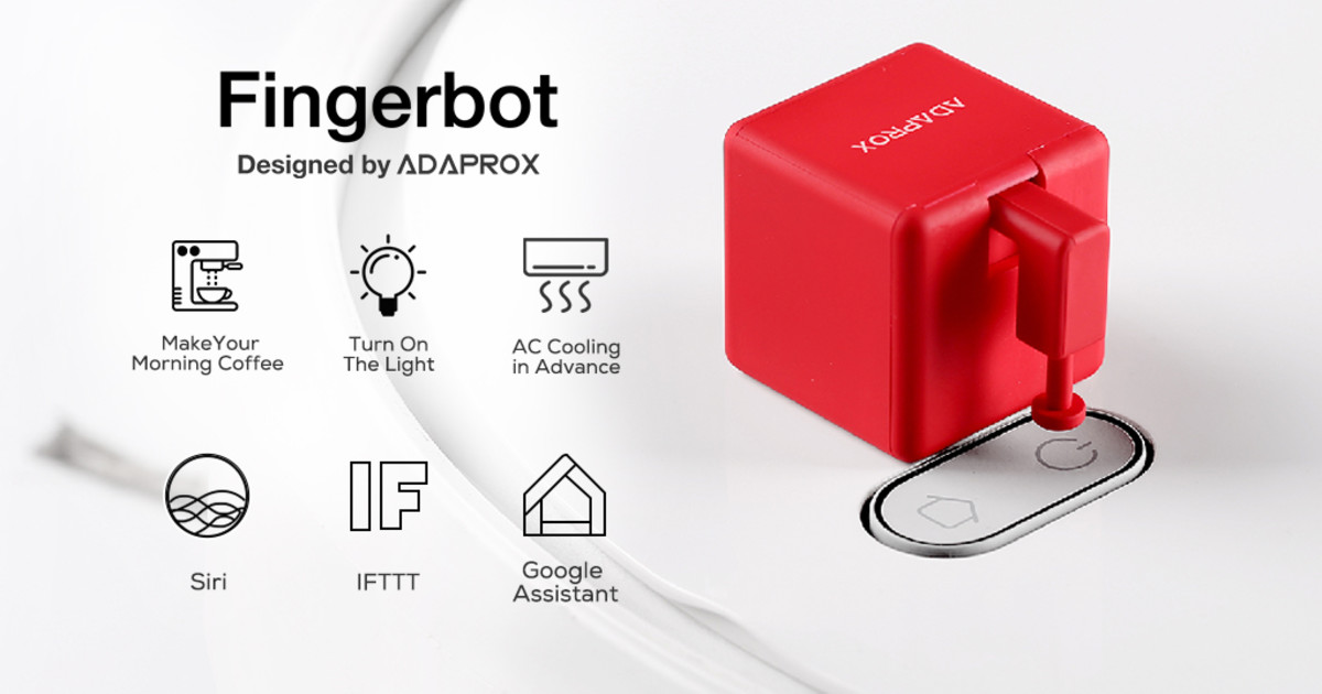 Fingerbot, Control All Devices via Voice or App | Indiegogo
