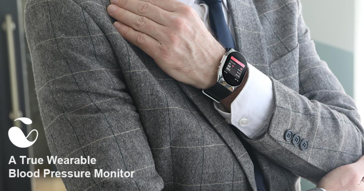 YHE BP Doctor Wearable Blood Pressure Smartwatch