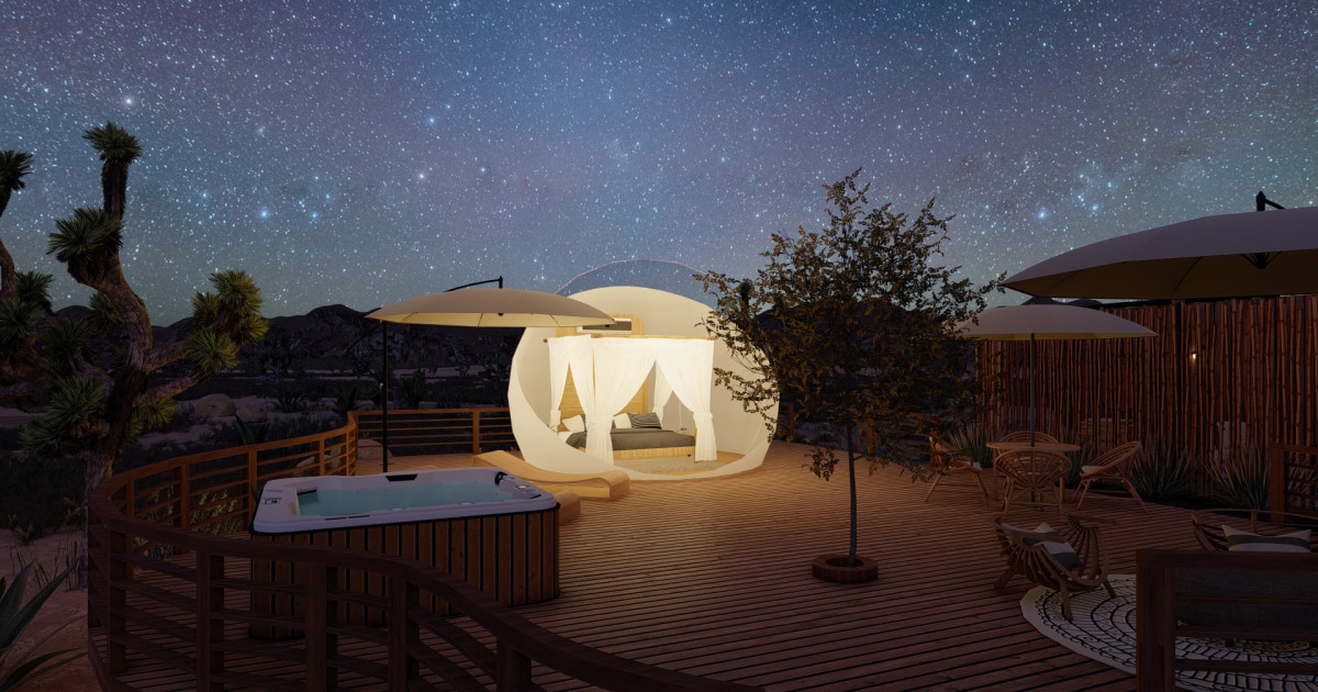 Bubble Hotels - Sleep Under the Stars in Style