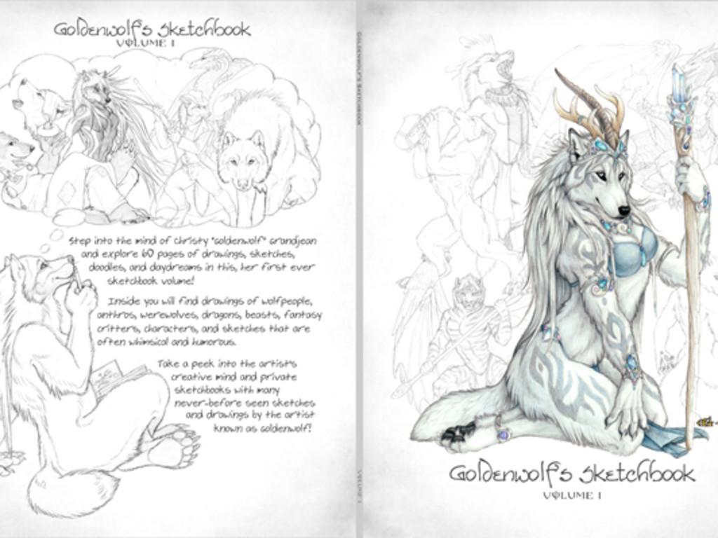 Goldenwolfs sketchbook volume i indiegogo