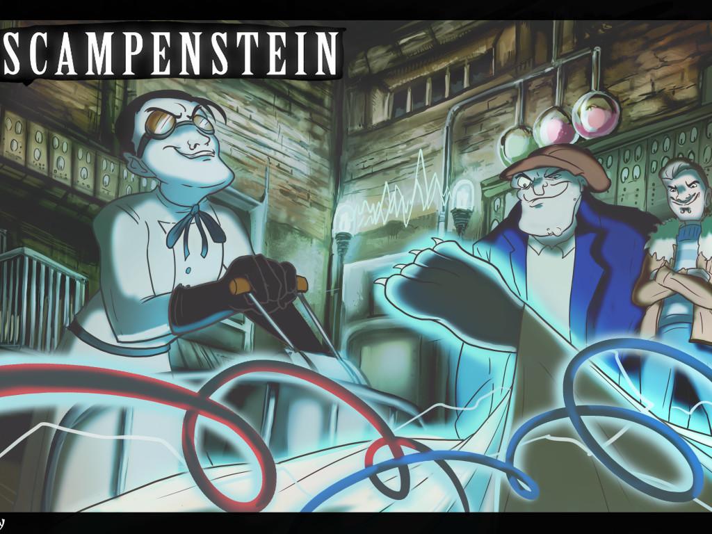 Graffiti Animation Scampenstein A Gothic Animated Film Indiegogo
