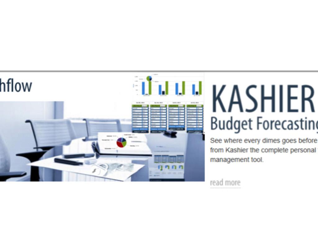 kashier online personal budget software indiegogo