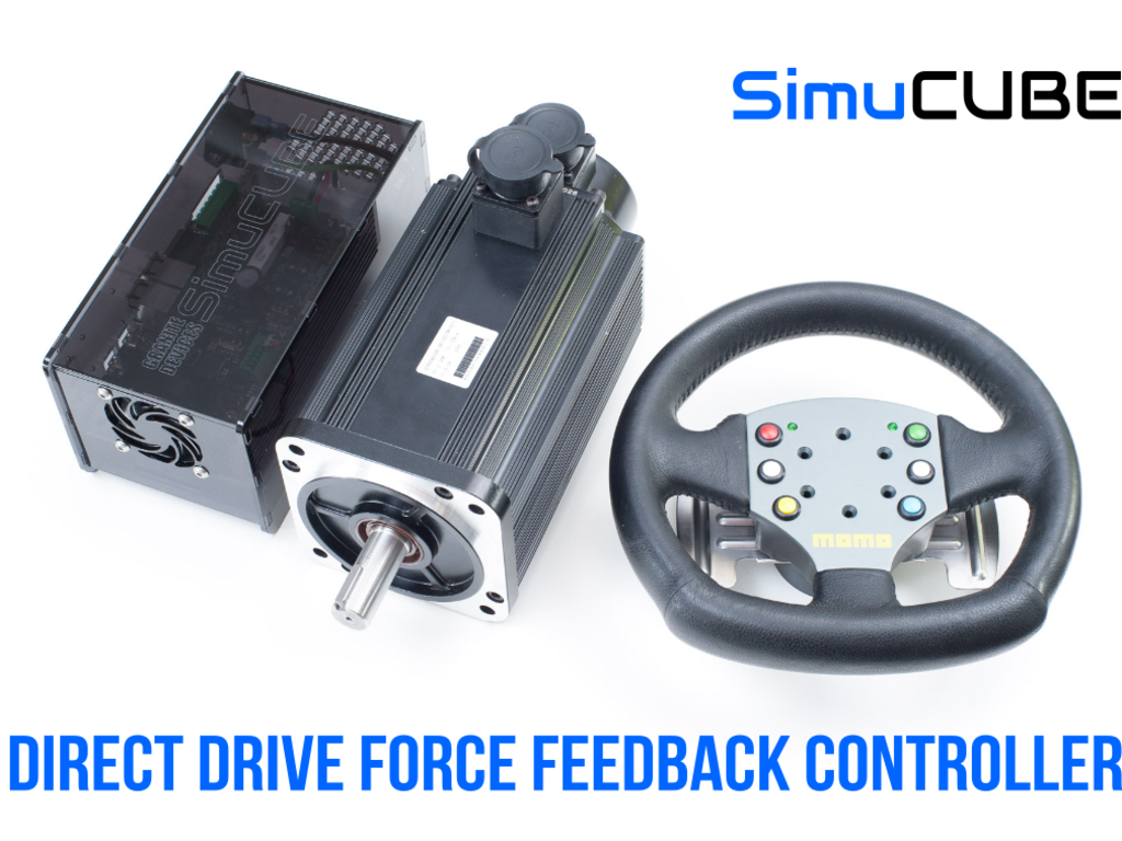 SimuCUBE: force feedback from the future | Indiegogo