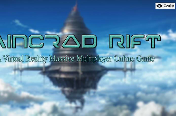 b5b1e1f2ef9e Aincrad Rift - Virtual Reality MMORPG for Oculus
