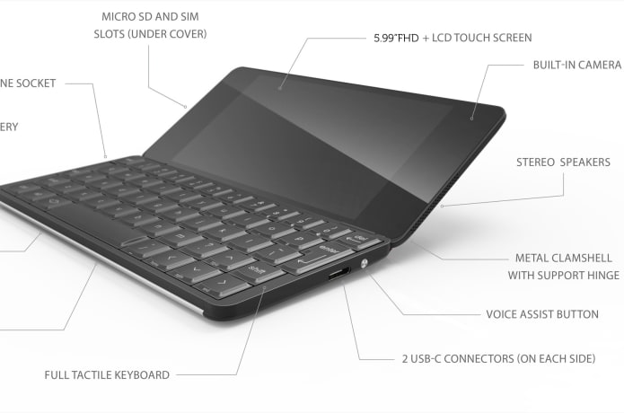 Gemini PDA Android & Linux keyboard mobile device | Indiegogo