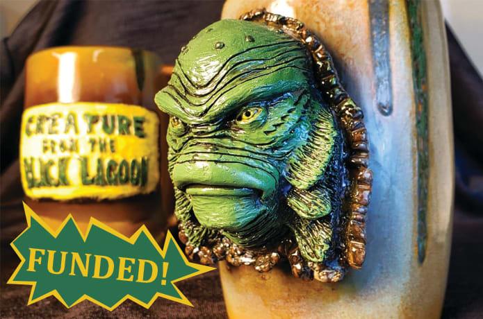 Creature from the Black Lagoon 3D Ceramic Mugs | Indiegogo