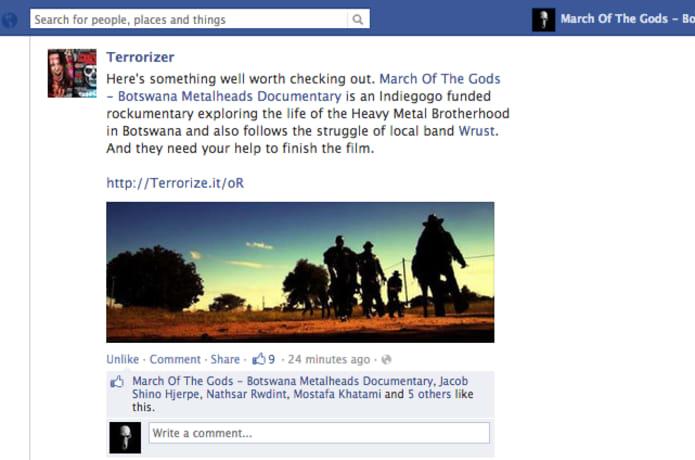 March of the Gods - Botswana Metalheads Documentary | Indiegogo