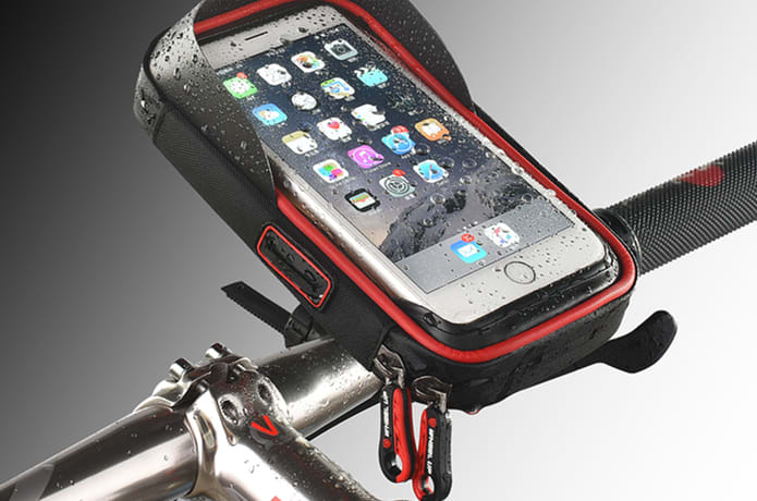 Waterproof Sun visor Phone Carrier Bag For Cyclist