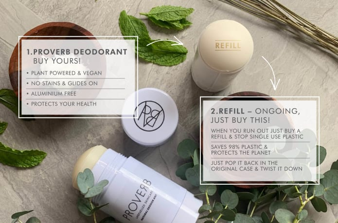 World's Kindest Refillable Natural Deodorant   Indiegogo
