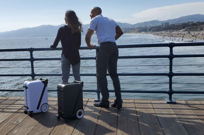 The The SIX: A Carry-on You Effortlessly Push Forward travel product recommended by Ilit Gluska on Lifney.