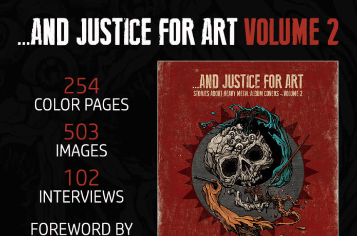 Let's print And Justice For Art - Volume 2 | Indiegogo