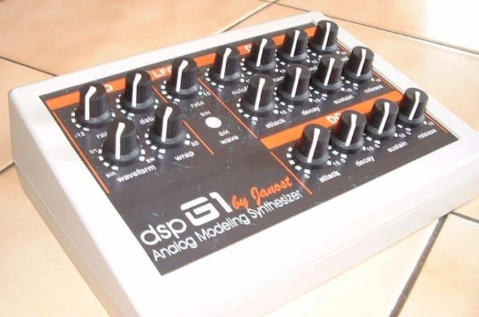 The dsp-G1 Analog Modeling Synthesizer   Indiegogo
