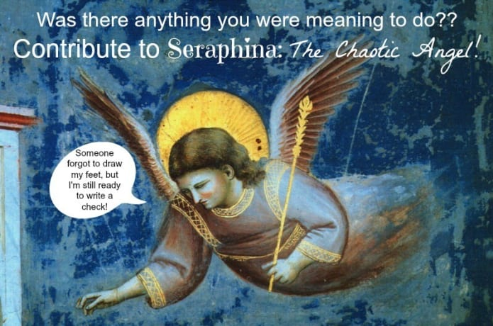 Seraphina: The Chaotic Angel | Indiegogo