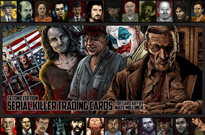 The New Serial Killer Trading Cards Indiegogo