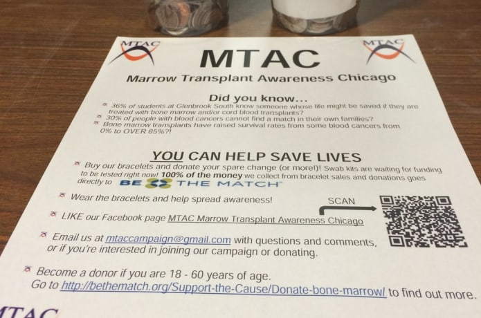 MTAC Marrow Transplant Awareness Chicago CAN CURE | Indiegogo