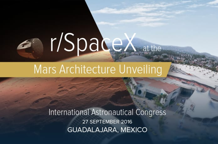 rSpaceX at IAC 2016 for Mars Unveiling! | Indiegogo