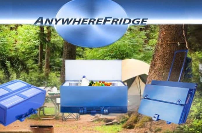 Anywhere Fridge: Portable, Collapsible, Solar powered Fridge