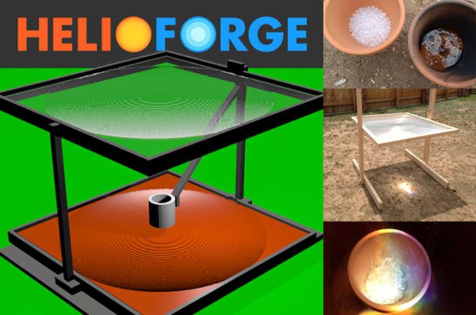 Helioforge: DIY Self-Replicable Solar Forge | Indiegogo