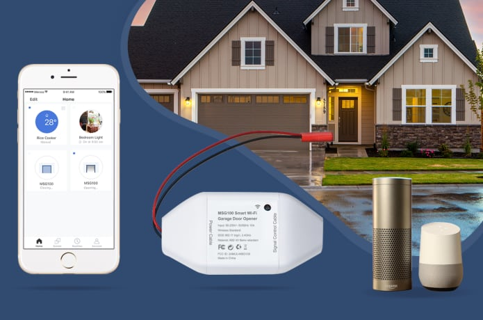 Meross Wi-Fi Smart Garage Door Opener | Indiegogo