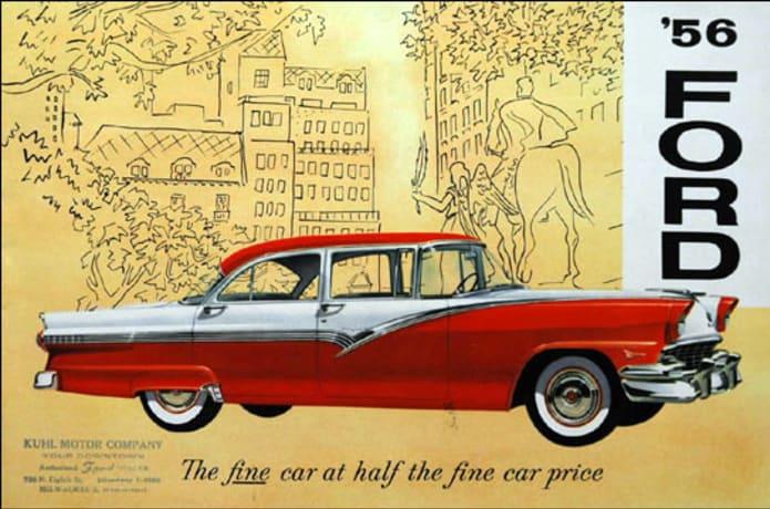 1956 Ford Fairlane Classic Car Restoration   Indiegogo