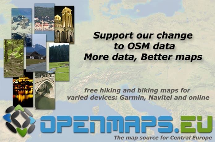 Support the free maps of openmaps eu | Indiegogo