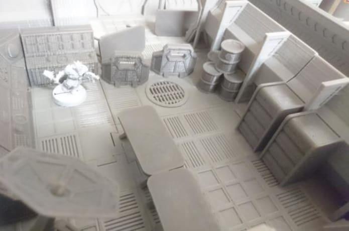 Space-Lock modular sci-fi terrain | Indiegogo