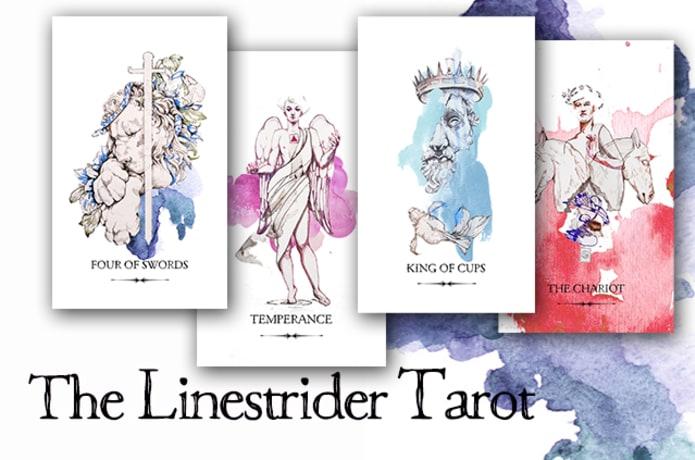 The Linestrider Tarot Deck | Indiegogo