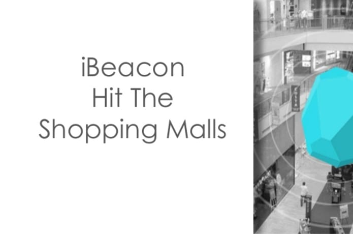 iBeacon technology at Shopping Malls | Indiegogo