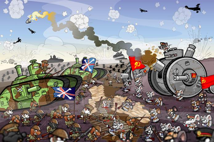 Great Bunny War   Indiegogo