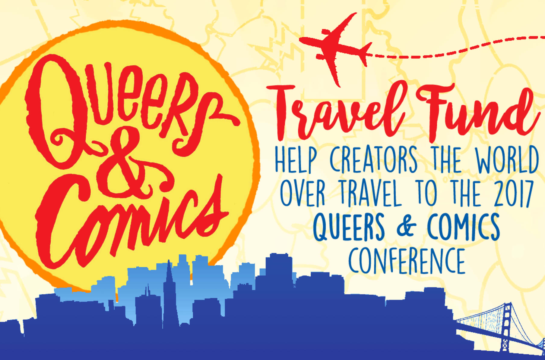 Queers & Comics Travel Fund   Indiegogo