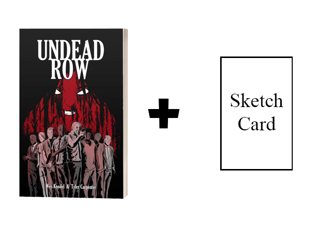 Undead Row Graphic Novel Indiegogo