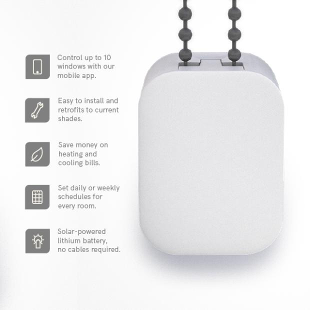 SOMA Smart Shades Automate Blinds and Shades Indiegogo