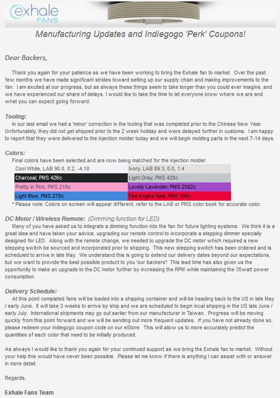 Exhale Fan Review tesla inspired bladeless ceiling fan | indiegogo