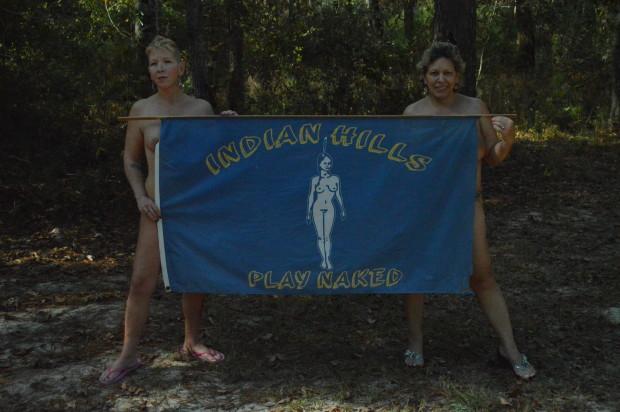 Hills indian name nudist park